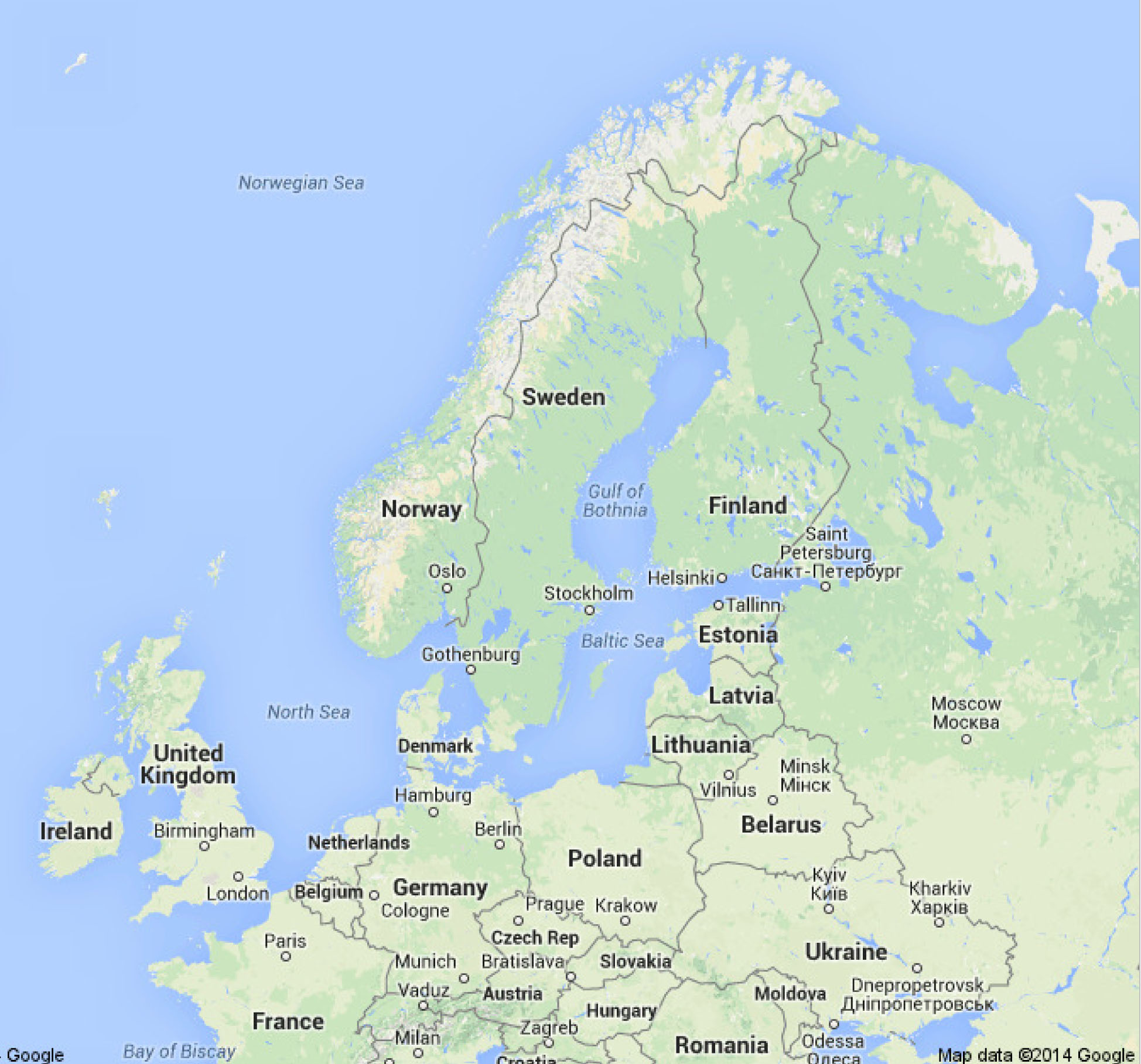 Belgium google maps